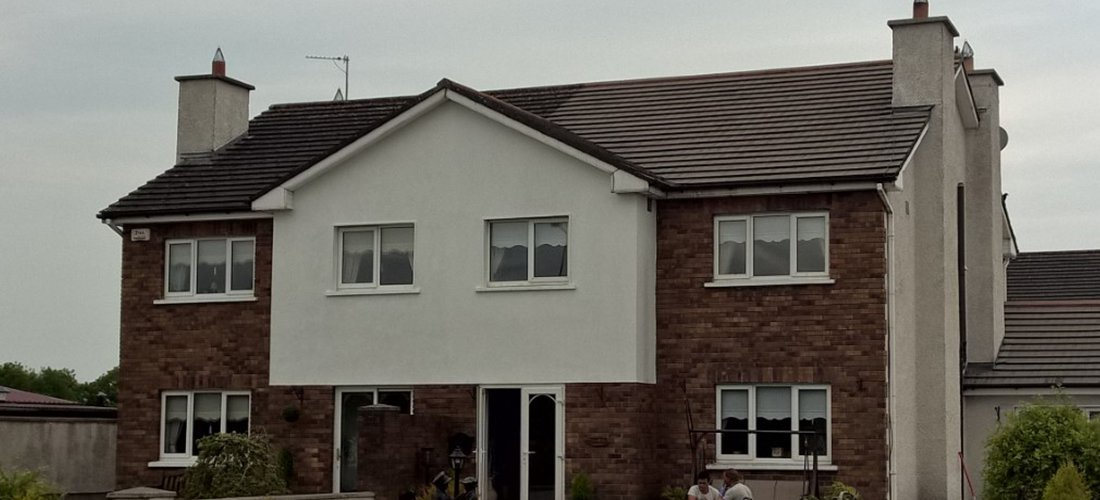 Cleaning Driveways and Roofs in Ballinasloe, Galway