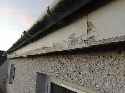 Replacing old guttering system in Ballinasloe