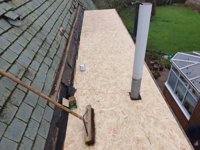 Installing New Felt Roof